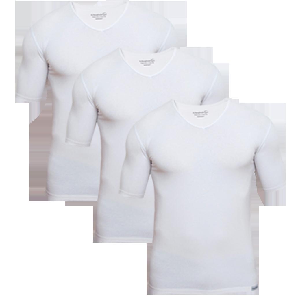 3 Schaufenberger Unterhemden Weiß im Vorteilsangebot
