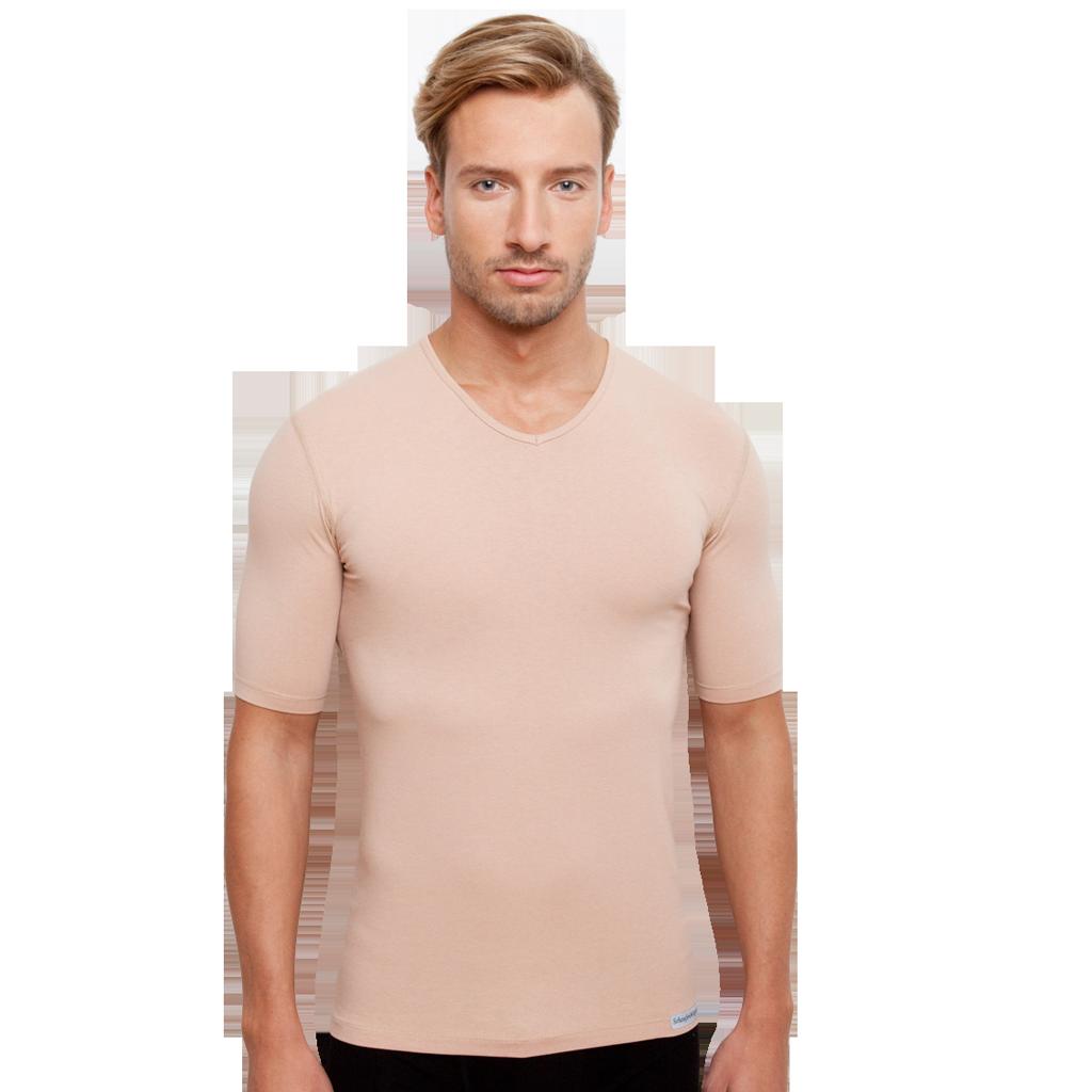 Unsichtbares Unterhemd V-Ausschnitt für Herren von Schaufenberger