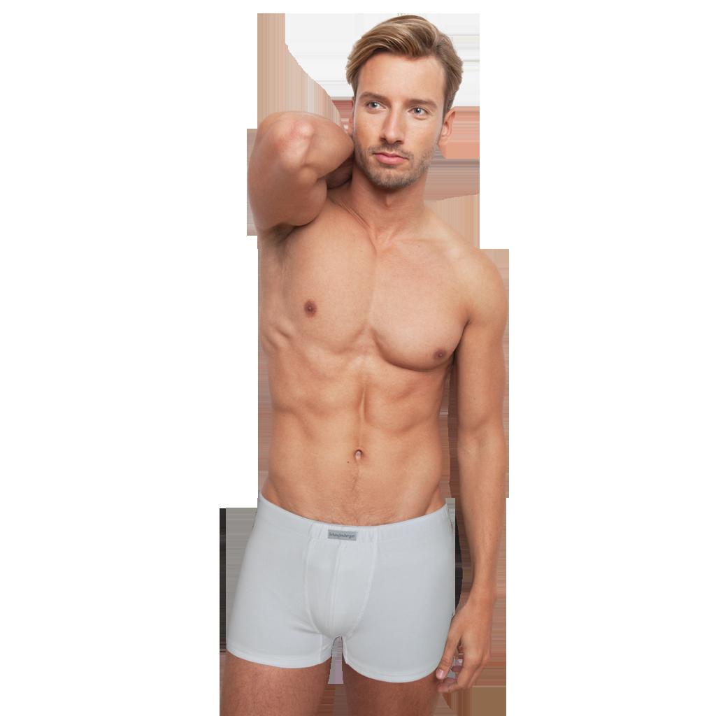 Herren Unterhosen Weiß